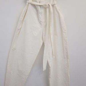 Vintage White Isabel Marant Parachute Pant